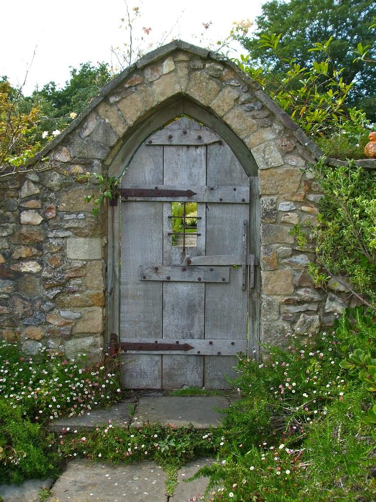 Door to secret garden paul taylor flickr for Garden door designs