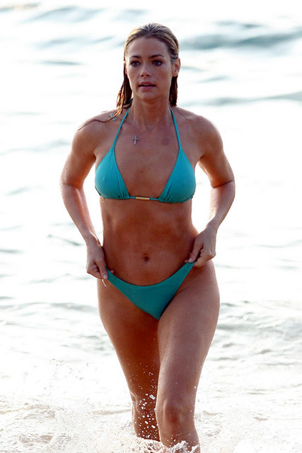 richards bikini in hawaii Denise
