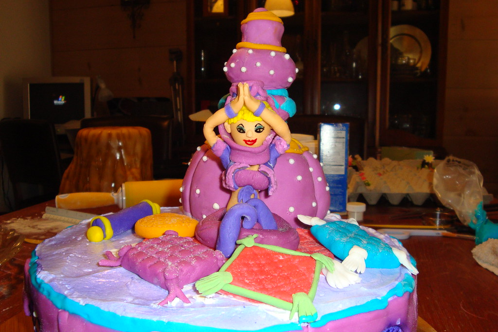 I Dream Of Jeannie Birthday Cake