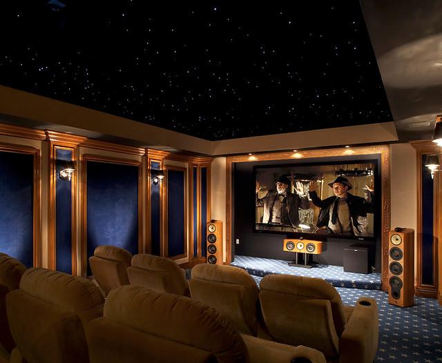 Audio Den Custom Theater 2 Curtain Open This Audio Den