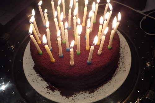 Chocolate Cake Images Birthday With Candles : Chocolate birthday cake with candles Libertylondongirl ...