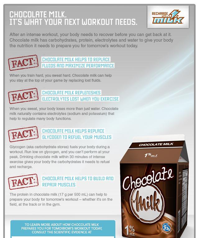Chocolate Milk Protein Powder
