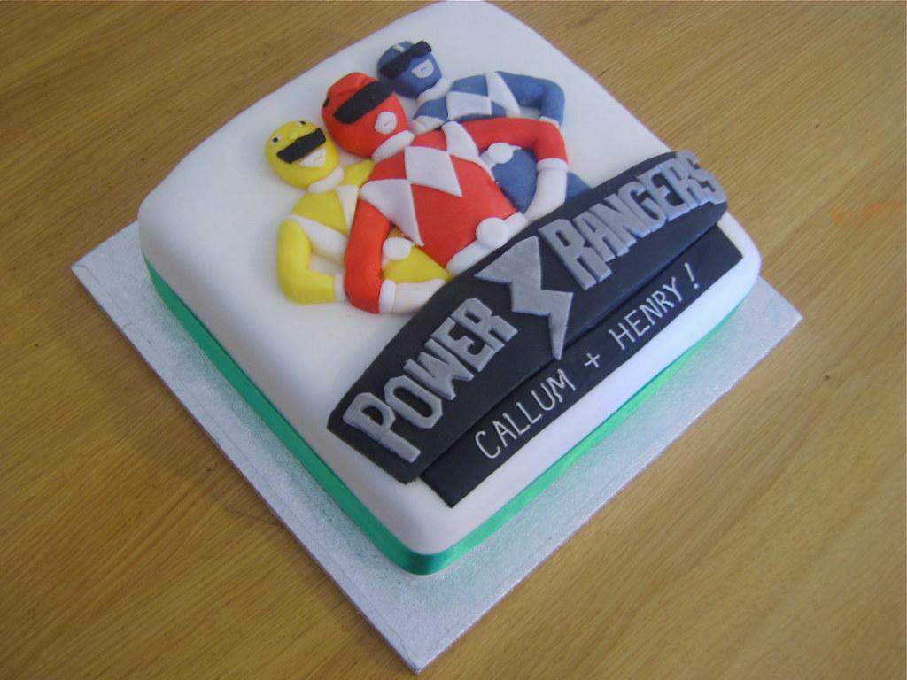 Power Ranger Cake Pan