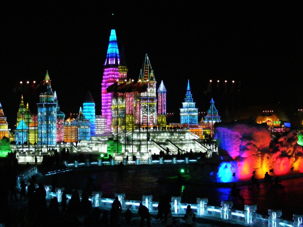 Snow And Ice World Festival In Harbin China The Annual