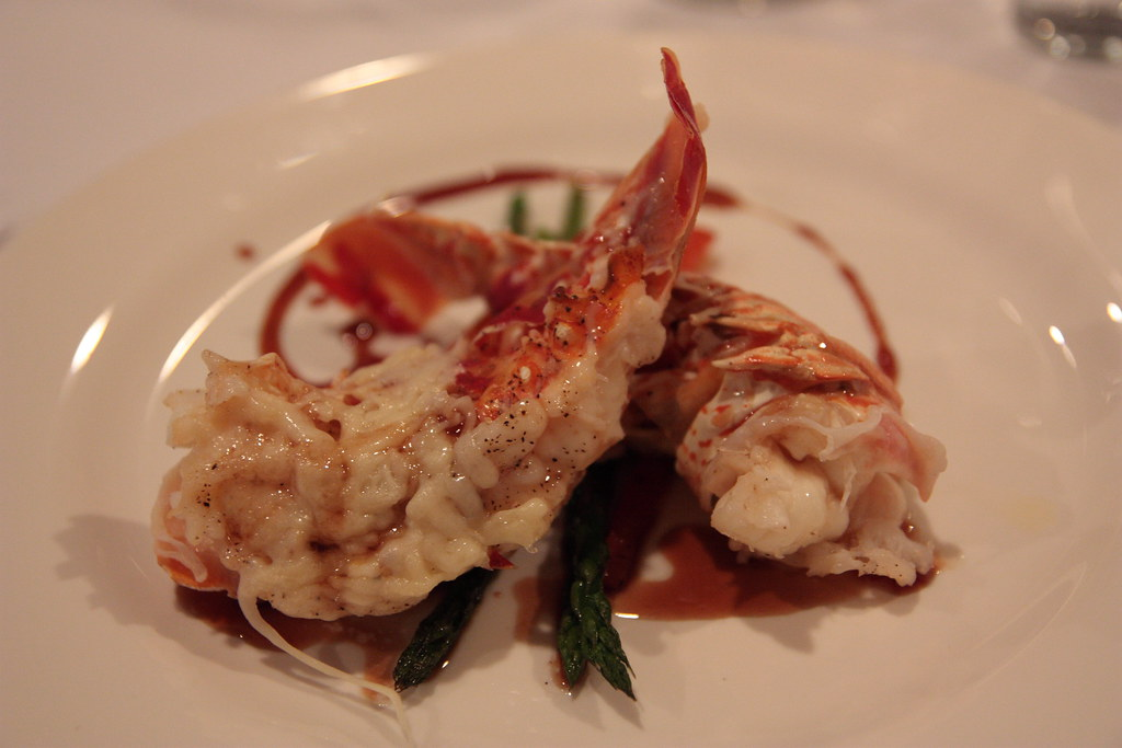 """IMG_5456   langostine thermador: lobster """"tamales"""", broiled …   Flickr"""