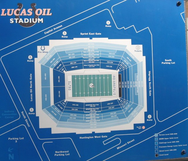 Lucas Oil Stadium Seating Chart 81409 Paula Flickr