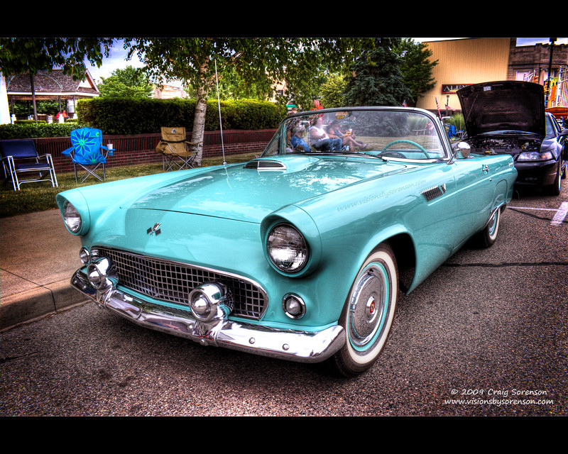 Weekly Sales Circular >> 1955 Ford Thunderbird | This gorgeous Thunderbird Blue '55 T… | Flickr
