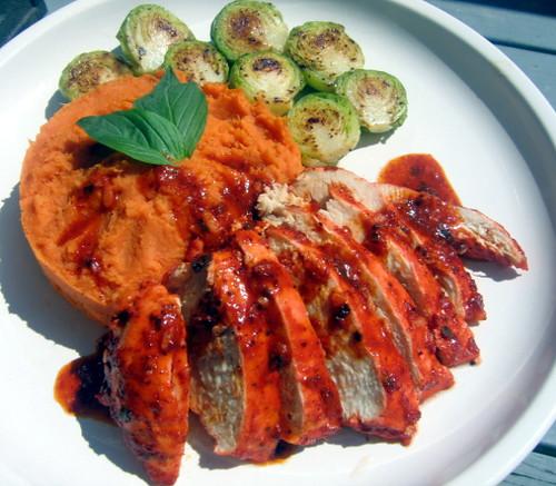 Achiote Chicken Bbq Achiote Chicken w/ Whipped