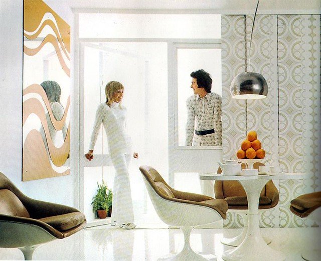 Stylish 70s Interior Is This The Past Or The Future