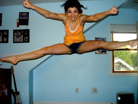 Cheerleading jumps for beginners