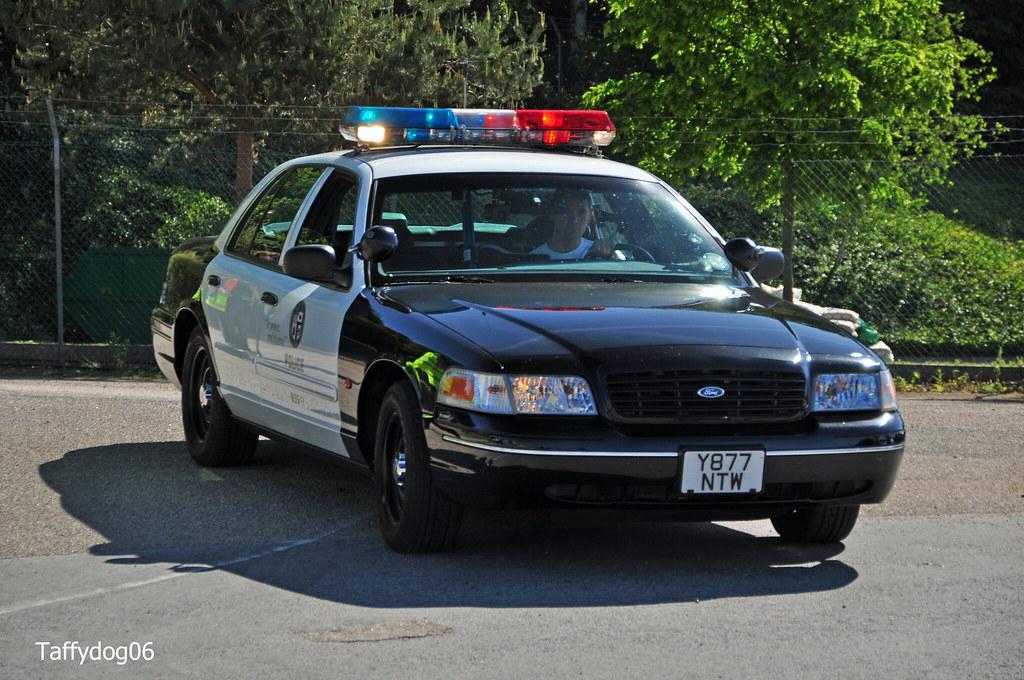 Lapd Crown Victoria >> Y877 NTW LAPD Ford Crown Victoria P71 Police Interceptor | Flickr