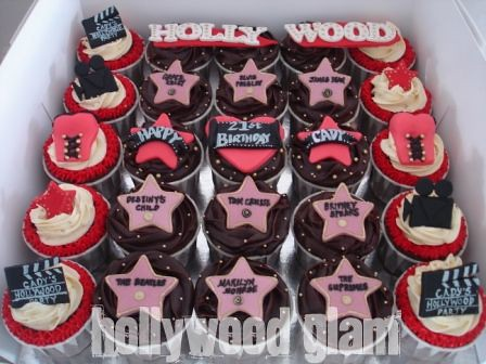 Hollywood Walk Of Fame Cake