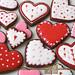 Chocolate Valentine's Cookies