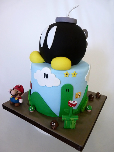 mario cake | by Tuff Cookie cakes by Sylvia