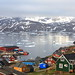 The Village of Tasiilaq Greenland