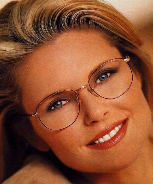 Christy Brinkley Wearing Glasses Gwg Fan Flickr