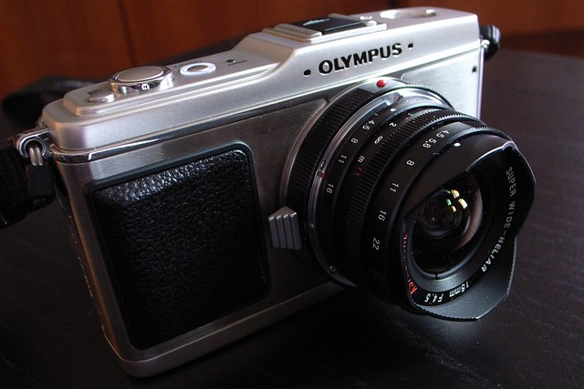 Olympus Pen E-P1 with 15mm