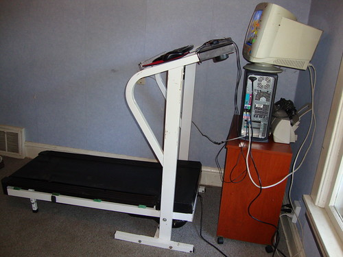 treadmill desk side angle | by cmcbrown