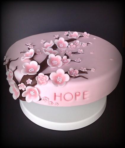 How To Make Cherry Blossom Flowers For Cake