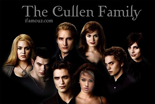 the cullen family twilight : twilight , new moon , eclipse ...