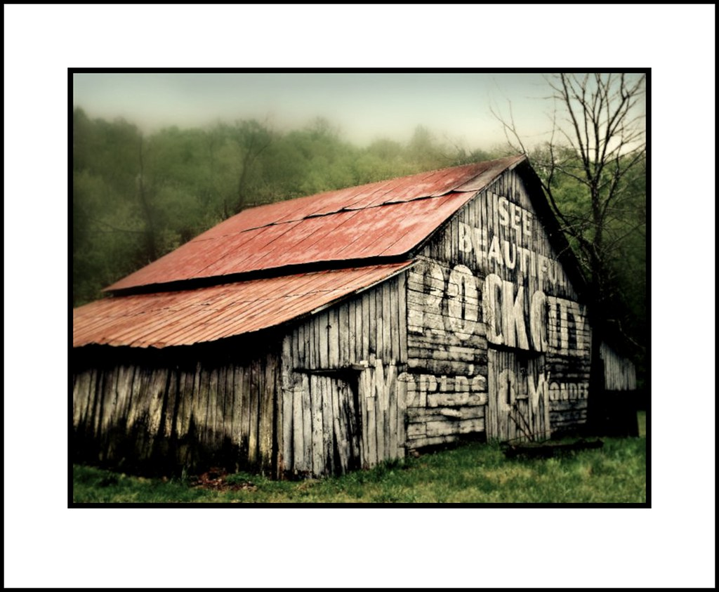 Rock City Barn Tennessee All Rights Reserved Www