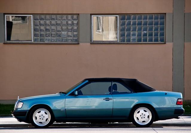 mercedes benz w124 e class convertible e klasse cabrio. Black Bedroom Furniture Sets. Home Design Ideas