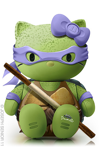 Hello Donatello | by yodaflicker