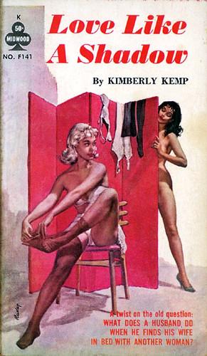 Love Like A Shadow Midwood No F141 1962 Author Kimberl