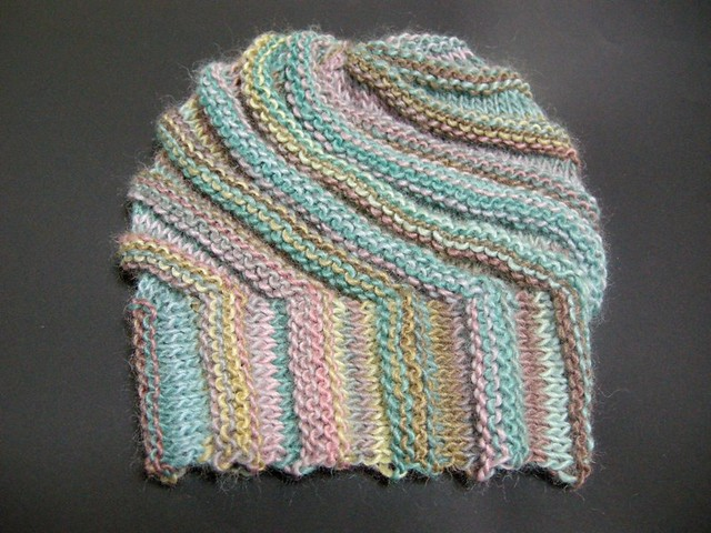 Handmade Knitting Patterns : Handmade knit cap(Escargo pattern) I really like Multico y? Flickr