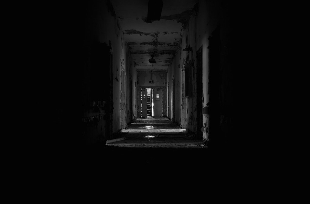 The Long, Dark Hallway | Photo Taken In The Main Building Atu2026 | Flickr