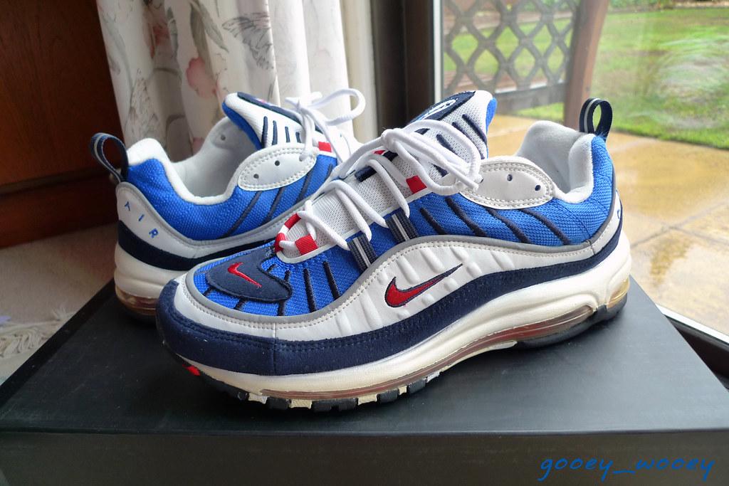air max 98 supreme bleu