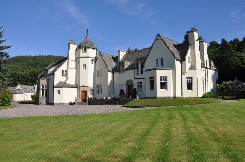 glenfarg house  perthshire  scotland