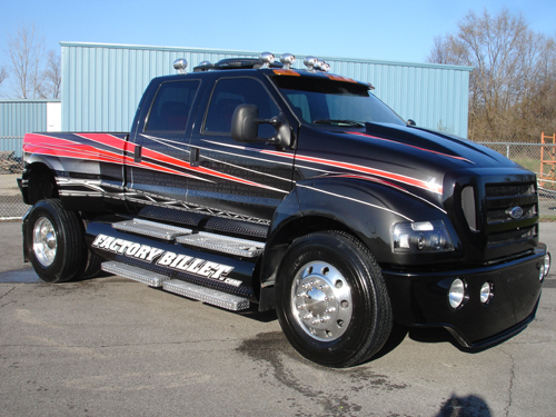 "New Ford Trucks >> f650 pickup | custom ford f650 pickup a.k.a""factory bullet"" 