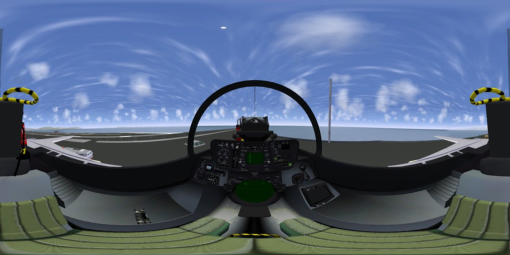 fgfs_f14-rio | The F-14B RIO's cockpit in flightgear ...