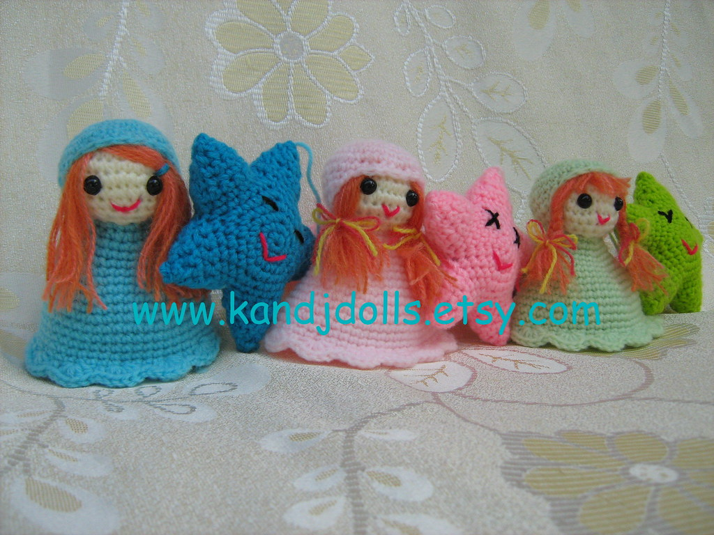 Little Angels Mobile Amigurumi Crochet Pattern For More A Flickr
