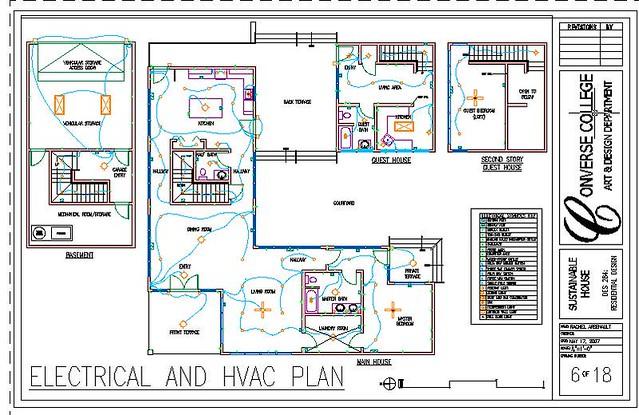 Electrical hvac plan rachel rubenstein flickr for Hvac plan