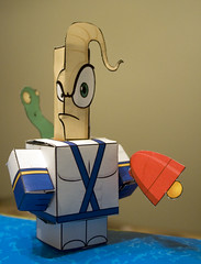 earthworm jim papercraft | by me and the sysop