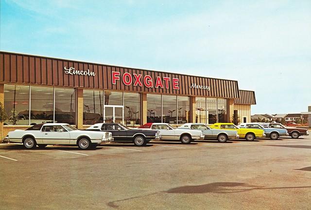 Foxgate Lincoln Mercury Memphis Tn 1970s How About