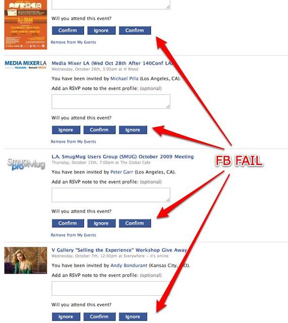 Facebook confirm requests fail facebook fail regardless