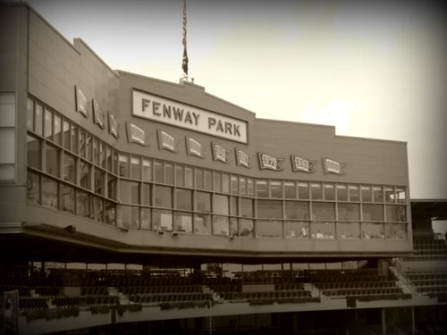 Fenway Park of old | Well, actually just playing around ...