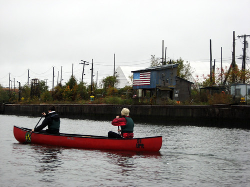 October staff canoe tour | by freshkills2030
