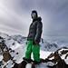 Pristine Peaks - Stefan on top of the world