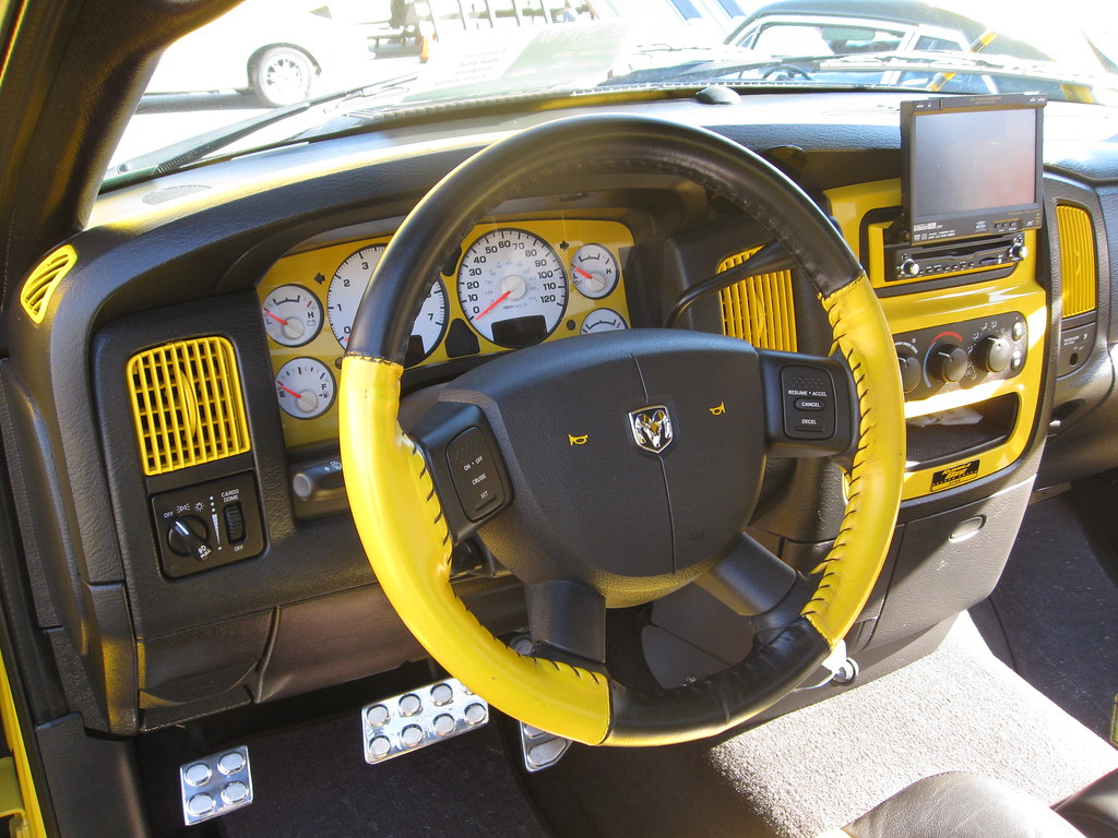 Dodge ram hemi 39 rumble bee 39 dashboard quot usmc recruit depot flickr
