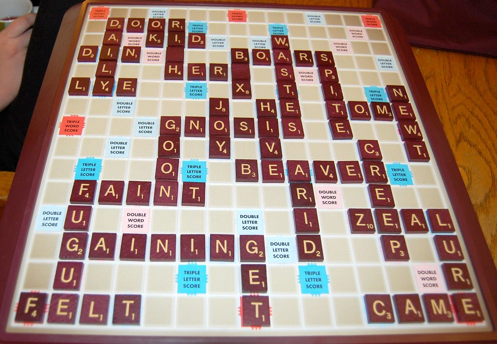 New game what does a scrabble game you played in tell a for Scrabble juego de mesa precio