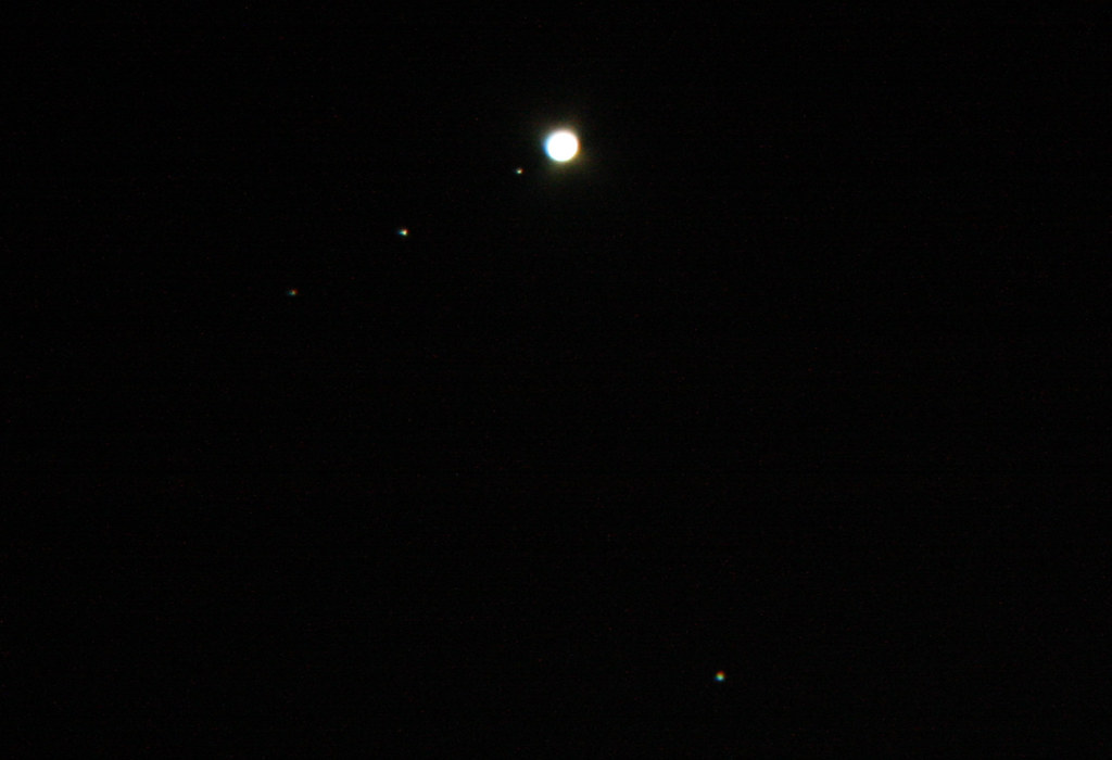 jupiter and its moons with white back - photo #23