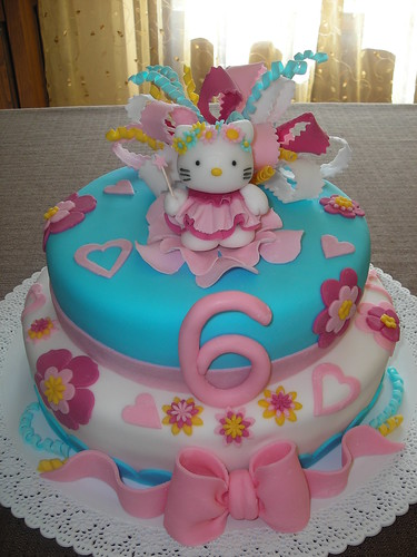 torta di hello kitty hello kitty cake flickr photo sharing. Black Bedroom Furniture Sets. Home Design Ideas