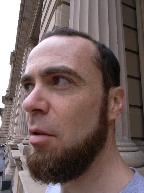 Chin curtain beard - photo#24