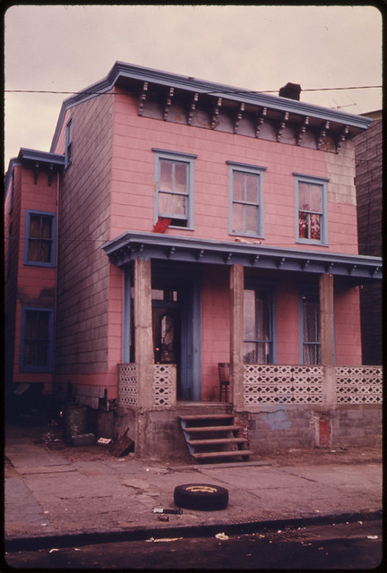 House In The Inner City Of Paterson New Jersey The Inner