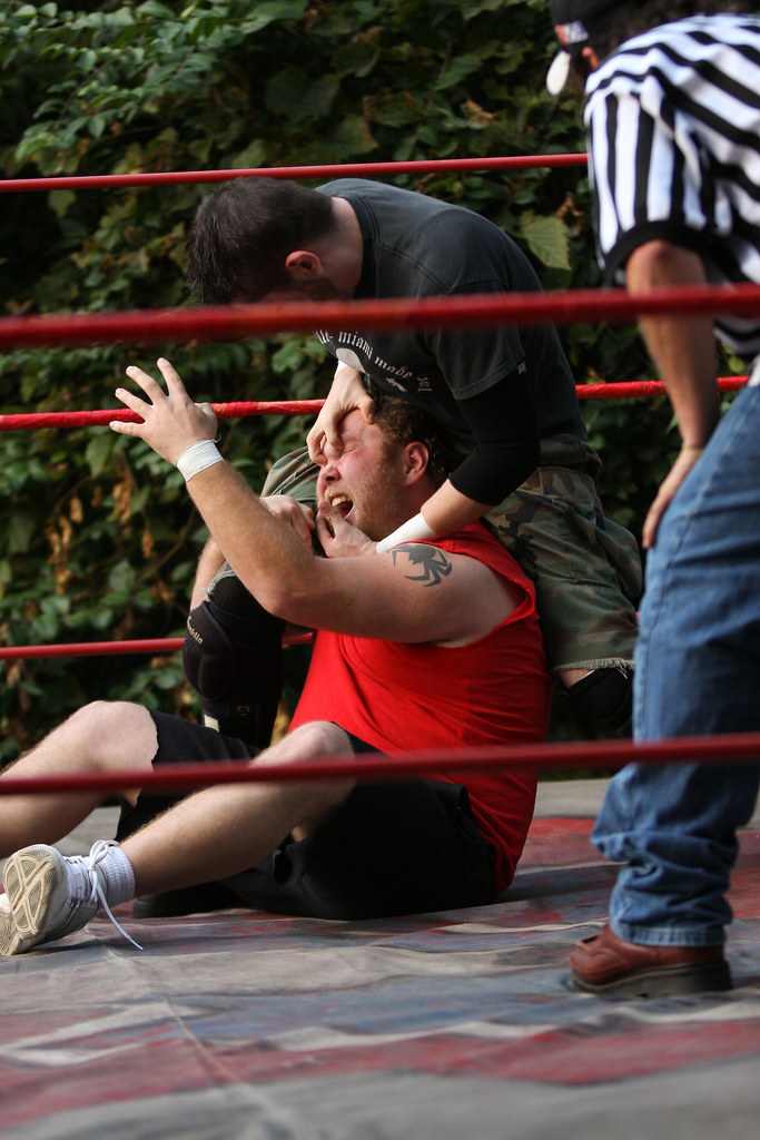 Backyard Wrestling - HCEW 9.28.2009 | These are some ...