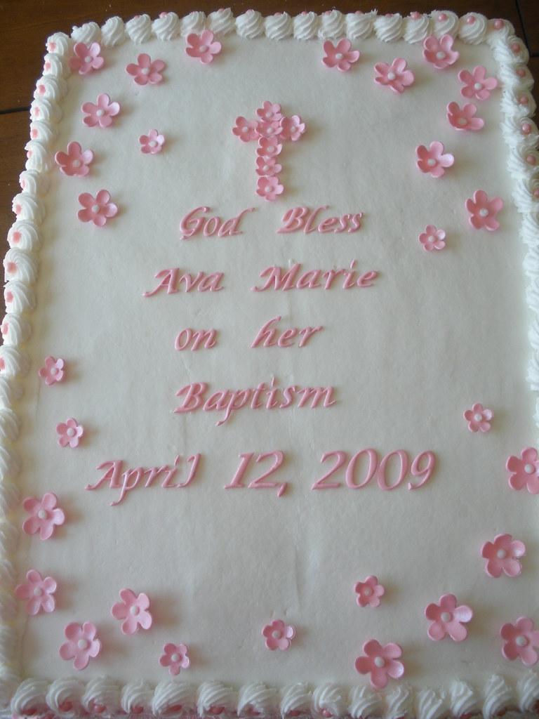 Baptism Cake Saying Ideas